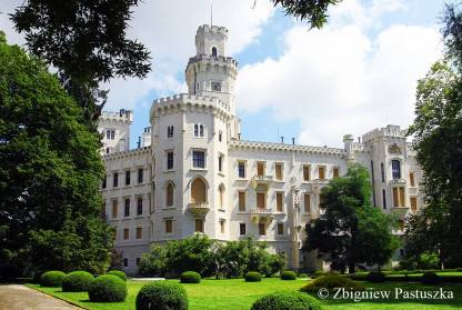 Park i zamek Hluboka
