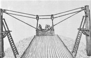 Kolejka linowa w 1610 r.