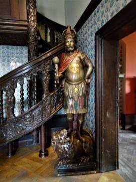 Święty Olaf jako św. Erazm w Ratuszu Starego Miasta