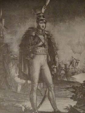 """Ks. Józef. Litografia rytowana przez Charona wg obrazu Aubry. J. Skowronek, """"Ks. Józef Poniatowski"""""""