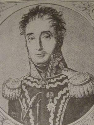 """gen. Michał Sokolnicki. Litografia W. Gersena. J. Skowronek, """"Ks. Józef Poniatowski"""""""