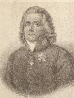 """Charles -Maurice de Tatteyrand, minister spraw zagranicznych Francji, przysłany przez Napoleona do Warszawy. """"Do Niepodległej"""" J. Skowronek"""