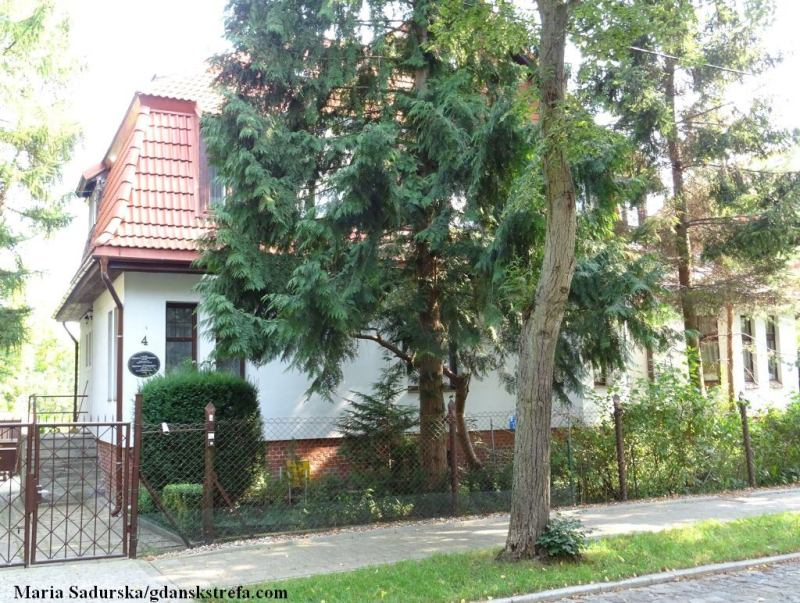 Dom w Oliwie, w którym mieszkała Malwina