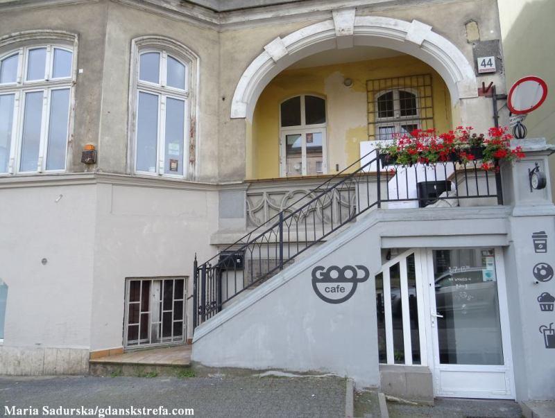 al. Grunwaldzka 44, dawna siedziba biblioteki, której patronowała Malwina Szczepkowska