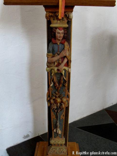 Element empory w kościele Piotra i Pawła