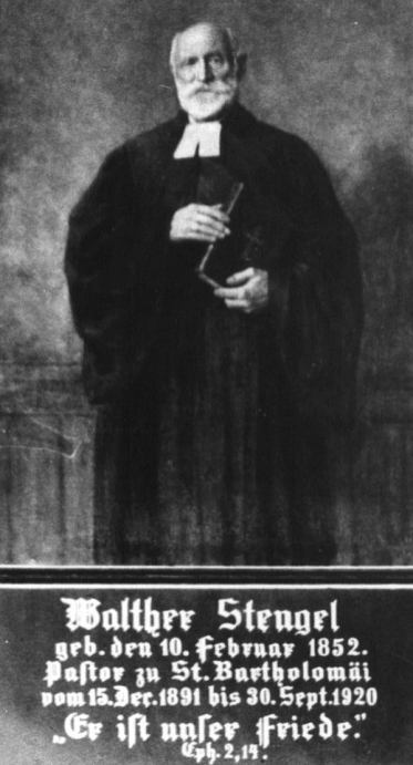 Portret Alberta Walthera Stengela