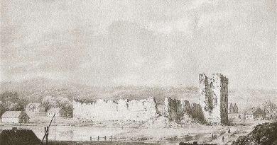 Ruiny zamku w Krewie, Napoleon Orda, Wikipedia