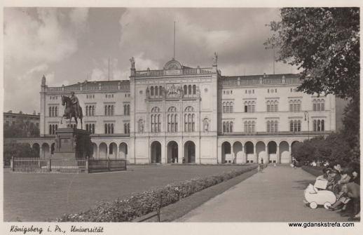 Budynek Nowego Uniwersytetu Królewieckiego.