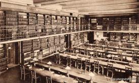 Czytelnia biblioteki Uniwersytetu Królewieckiego.