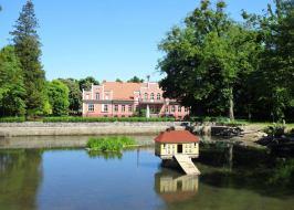 Pałac Przebendowskich od strony parkowej