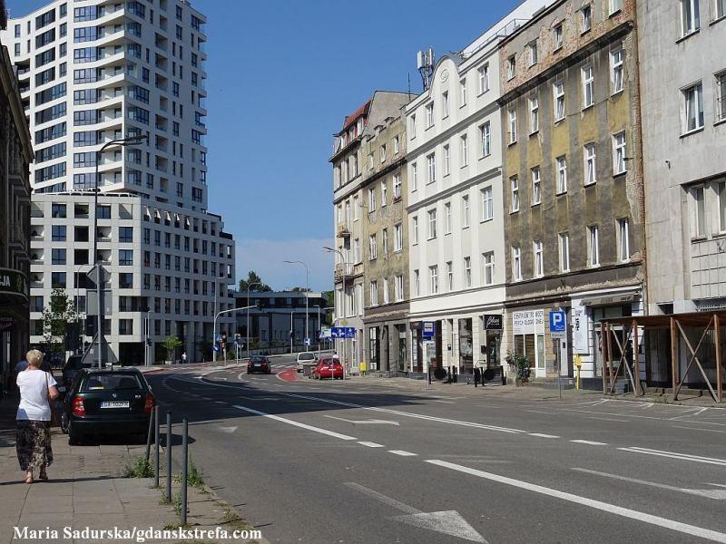 ul. Portowa w Gdyni