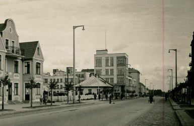 Gdyńskie latarnie w okresie międzywojennym