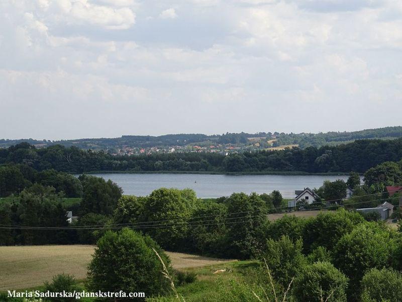 Widok na Jezioro Bielkowskie