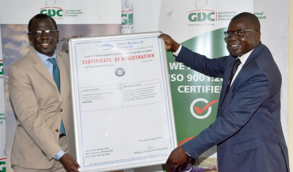 GDC receives ISO 9001:2015 certification