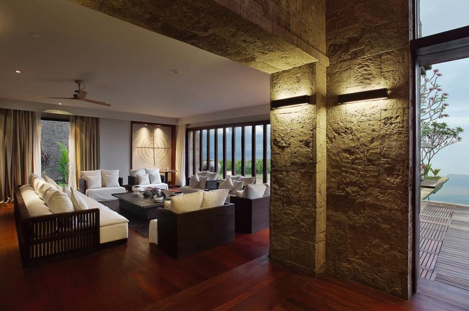 GDC interiors review of Blgari Bali Hotel villa interior