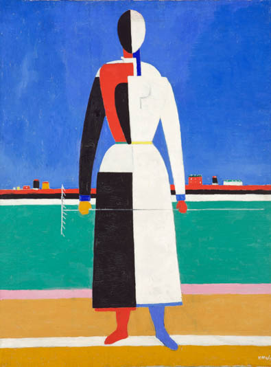 Malevich at Tate Modern Woman with Rake GDC interiors Journal review