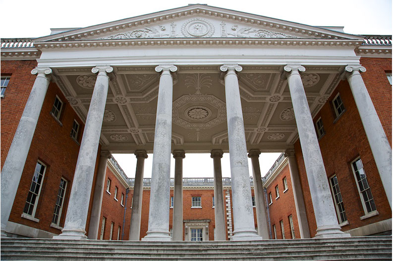 The 'Transparent' Portico, Osterley Park and House