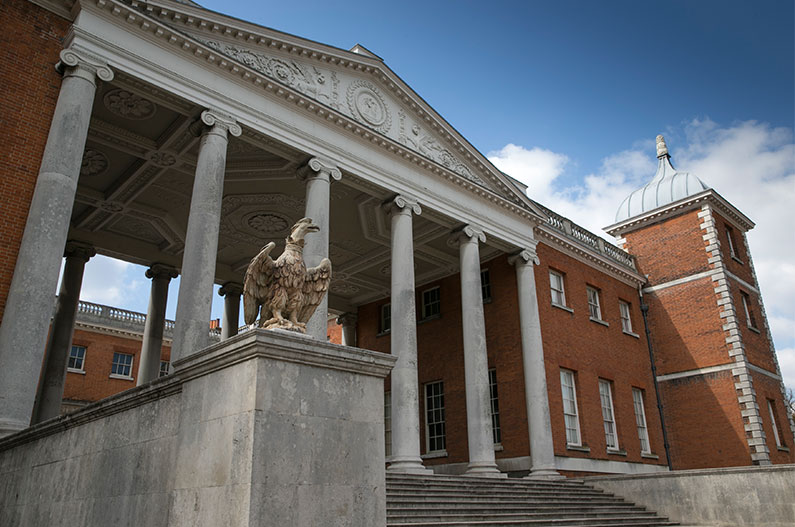 The East Front, Osterley Park and House