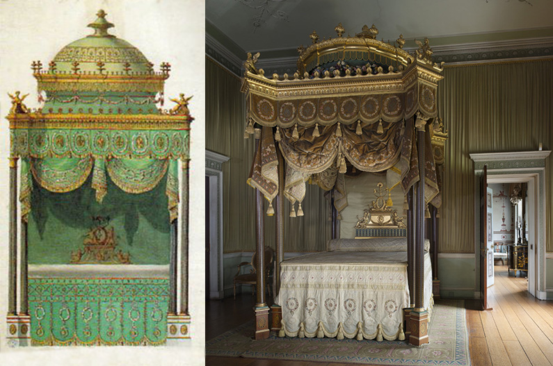 The State Bedchamber, Osterley Park and House