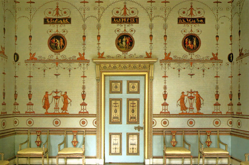 The Etruscan Dressing Room at Osterley Park and House
