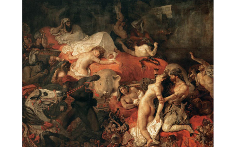 Rubens and his legacy The Death of Sardanapalus