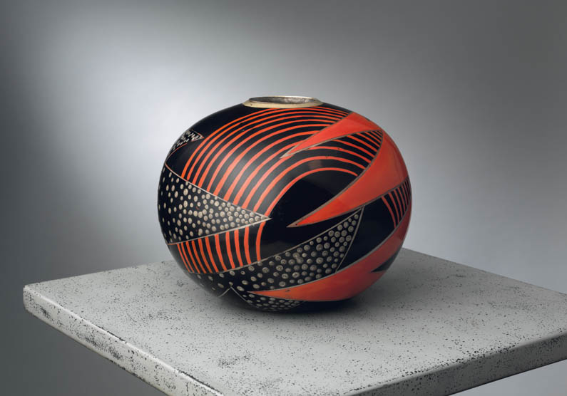 Jean Dunand Vase French Art Deco by Jared Goss