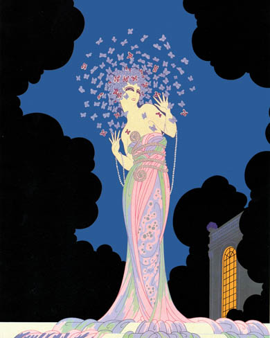 French Art Deco Style Erte