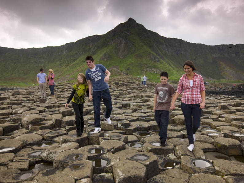 National Trust Properties Visitors at Giant s Causeway