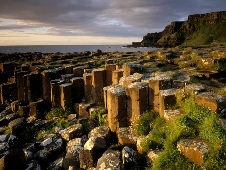 National Trust Properties View across part of the Giant s Causeway