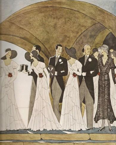 French Art Deco Wedding