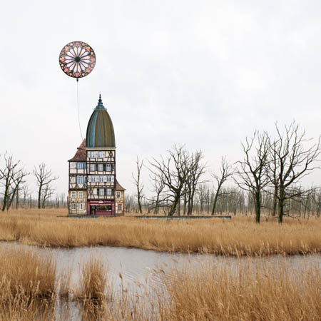 Collages of Matthias Jung Land of Evening