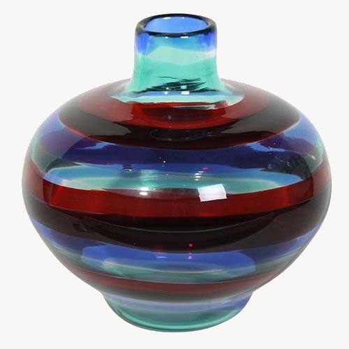 GLASS VASE by FULVIO BIANCONI GORDON-WATSON-masterpiece-london-2015