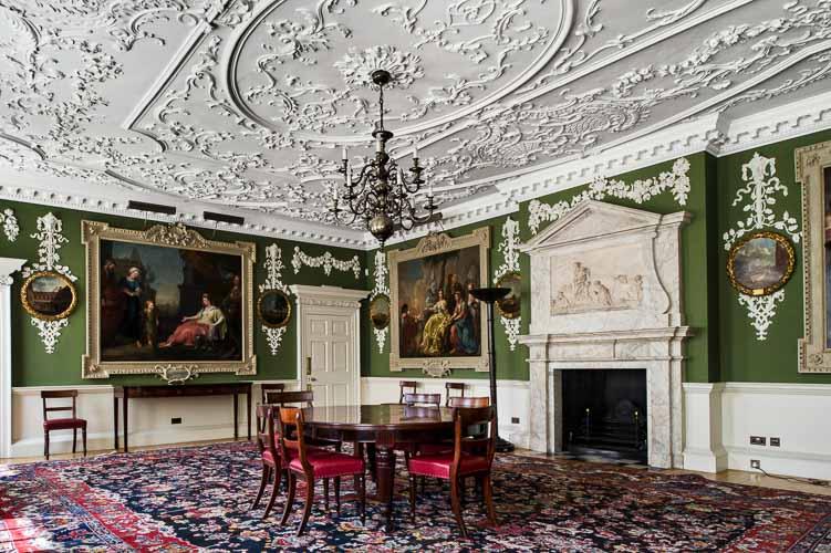 Foundling Museum ceiling plasterwork