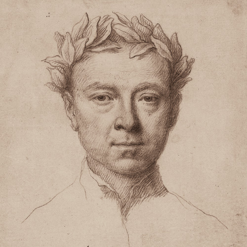Jonathan Richardson Self-portrait as a poet 1732