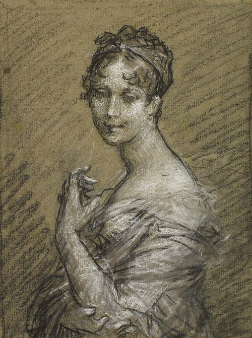 Study for a Portrait of Joséphine Bonaparte by Pierre-Paul Prud'hon