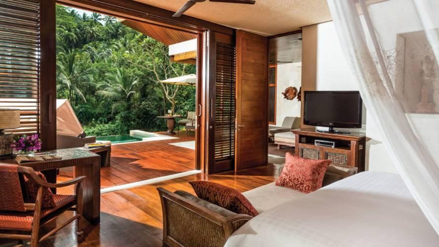 Interior of the Villa at Four Seasons Bali Sayan