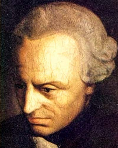 The European Crisis of Confidence Immanuel Kant (1724-1804)