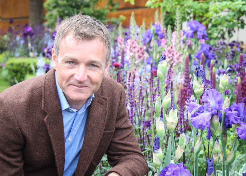 Chris Beardshaw at RHS chelsea flower show 2015