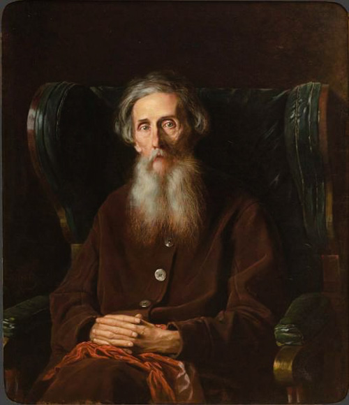 Vladimir Dal by Vasily Perov Russia and the Arts - The Age of Tolstoy and Tchaikovsky