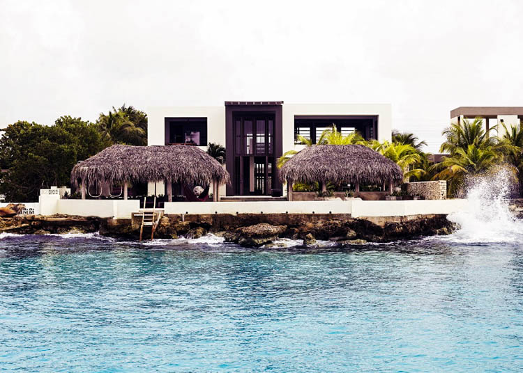 Kas Dorrie, Bonaire, Caribbean, waterside modern