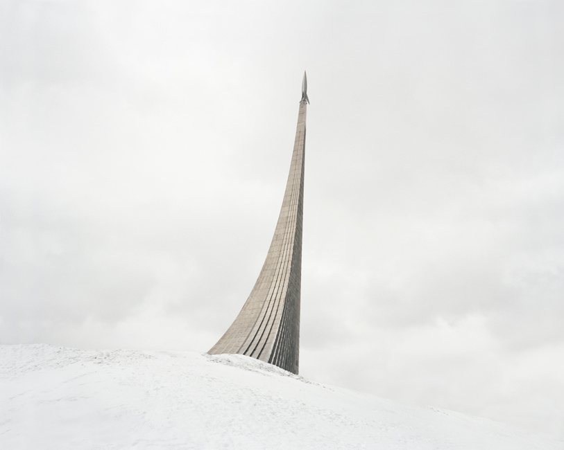 Danila Takatchenko, Monument to the Conquerors of Space. The rocket on top was made according to the design of German V-2 missile. Russia, Moscow, 2015 Dead space and ruins