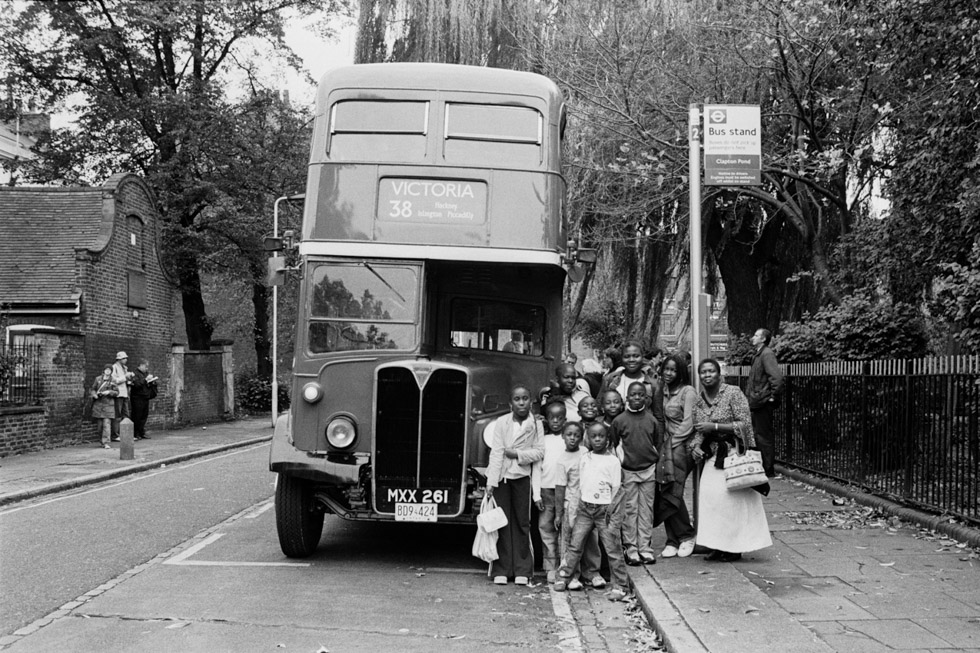 Last day of Routemaster buses. Clapton Pond, Hackney, 2005 Photograph by Colin O'Brien How London Has Changed