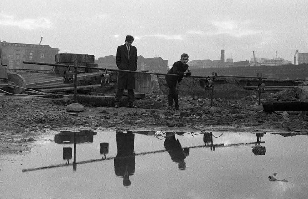 banks of Swan Wharf 1956 Photograph by Colin O'Brien How London Has Changed