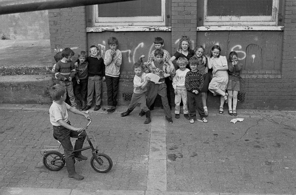 Travellers' Children. London Fields, 1987 Photograph by Colin O'Brien How London Has Changed