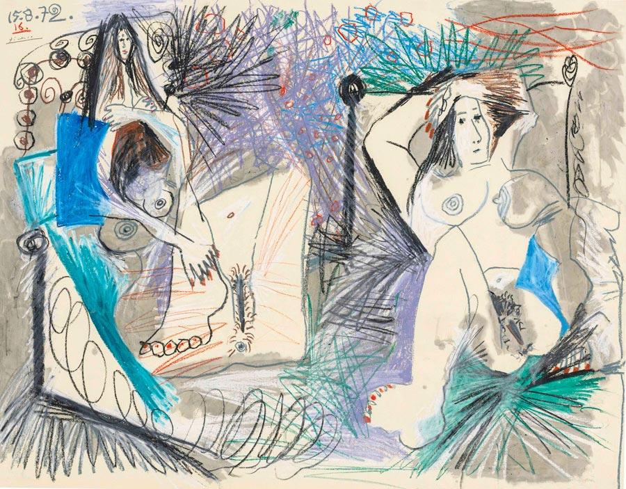 Picasso Deux nus couches masterpiece london 2016