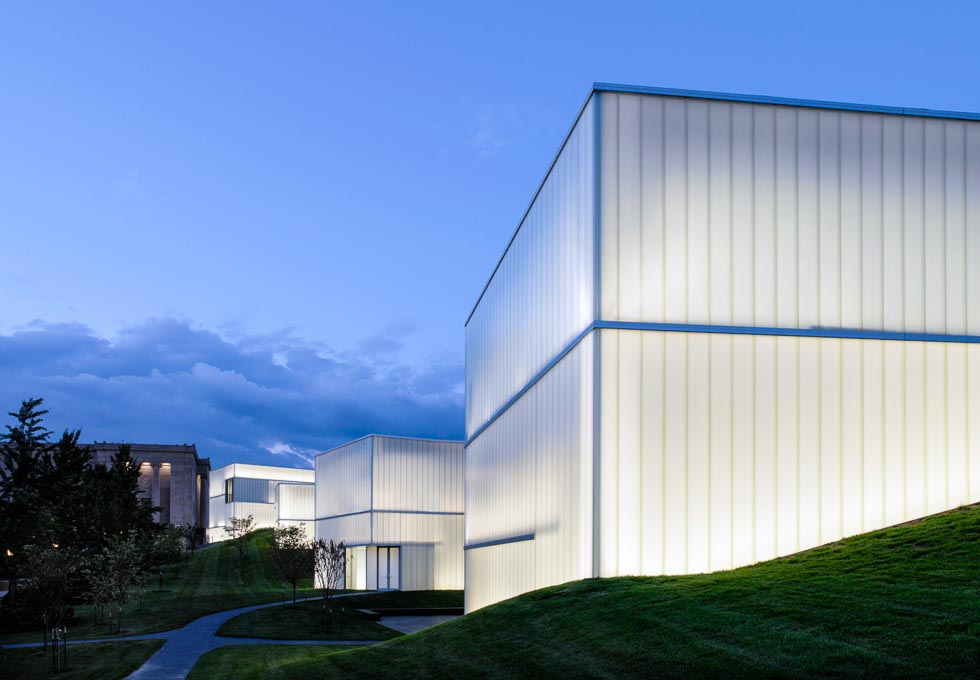 100 Most Important Buildings Bloch Building Nelson-Atkins Museum of Art