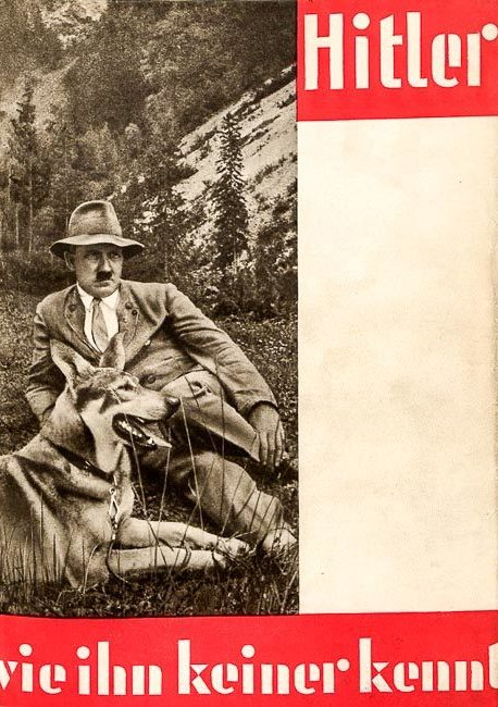 Cover of Heinrich Hoffmann's The Hitler Nobody Knows