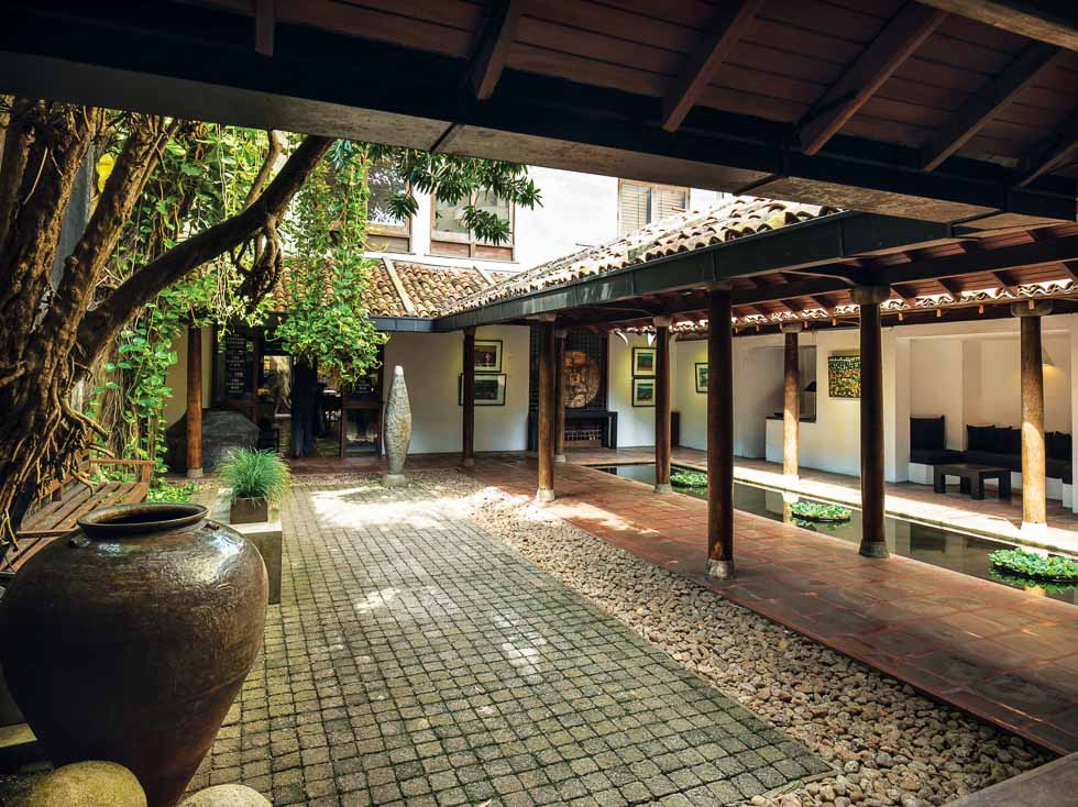 Geoffrey Bawa's The Gallery Cafe the Best of Sri Lankan Architecture