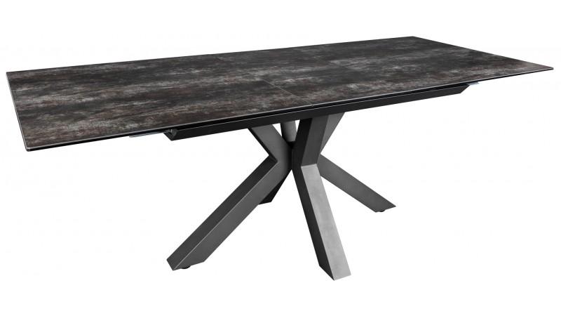 table a manger design en ceramique sur