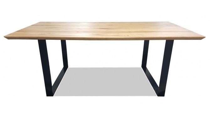 grande table a manger 200 cm en bois d acacia conan gdegdesign